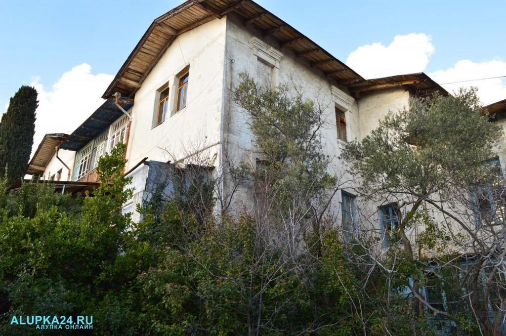 Дом генерала Милютина в Алупке: история и фото 3