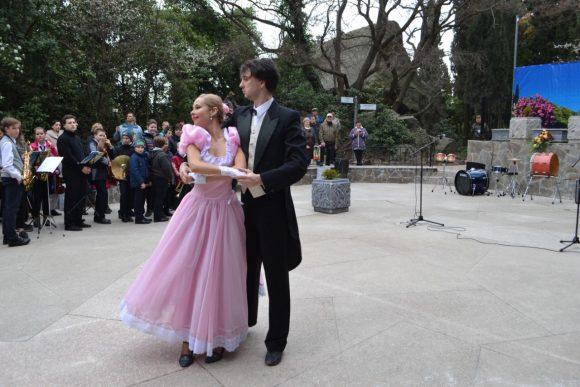 В Воронцовском парке Алупки состоялось открытие Арт-площадки 6
