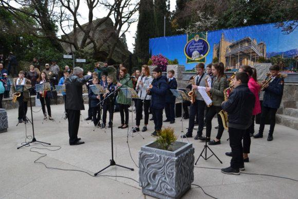 В Воронцовском парке Алупки состоялось открытие Арт-площадки 5