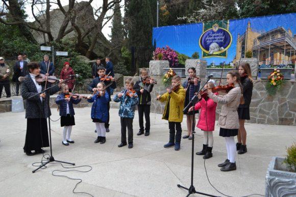 В Воронцовском парке Алупки состоялось открытие Арт-площадки 4