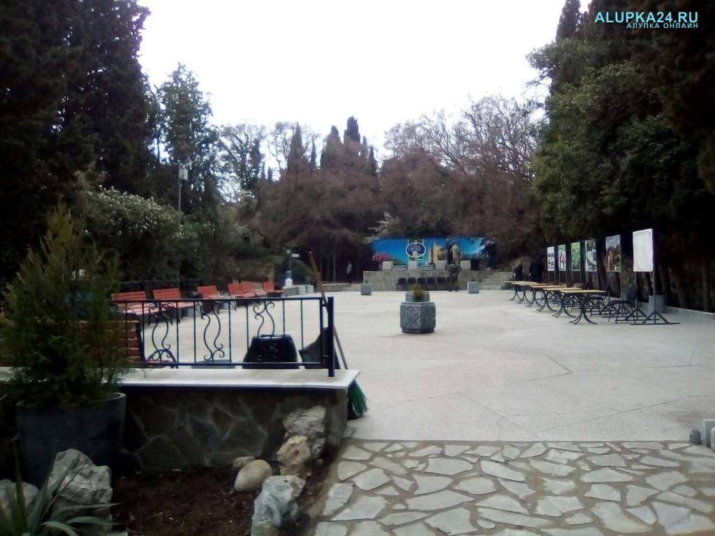 В Алупке готовится к открытию арт-площадка в Воронцовском парке 3