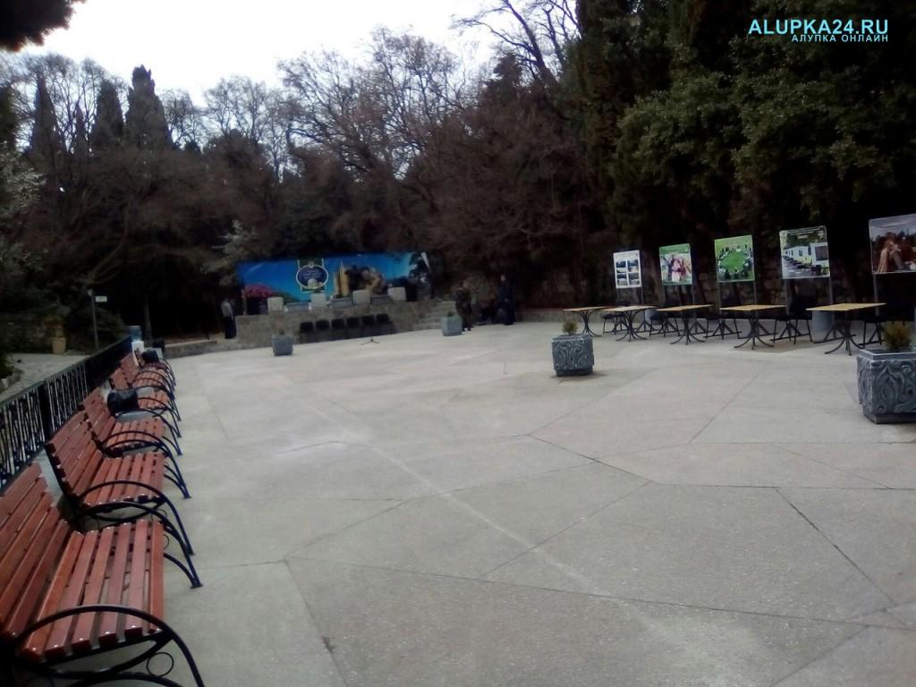 В Алупке готовится к открытию арт-площадка в Воронцовском парке 5