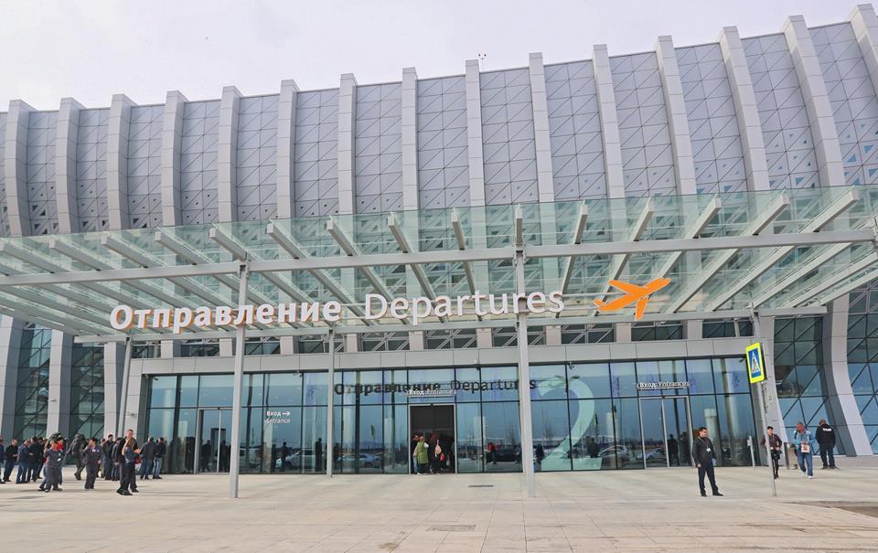 В Крыму начал работу новый аэровокзальный комплекс симферопольского аэропорта 3