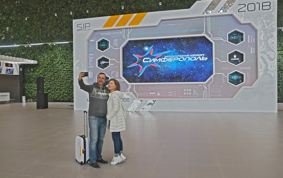 В Крыму начал работу новый аэровокзальный комплекс симферопольского аэропорта 5