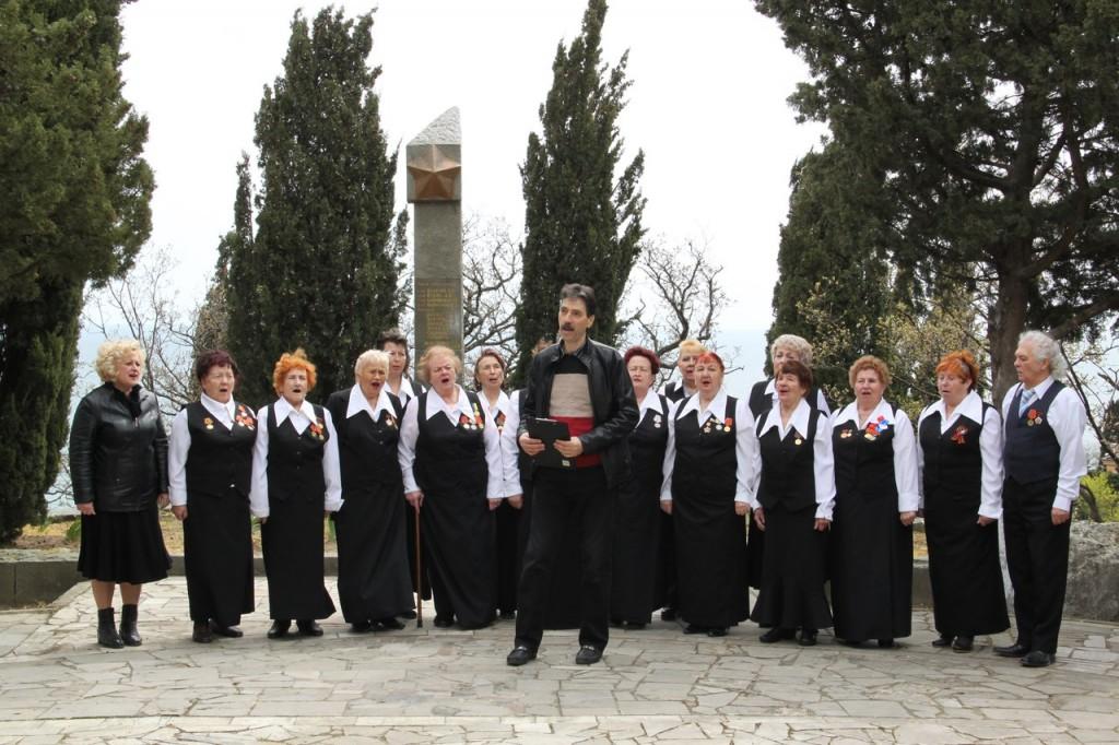 В Алупке отметили 74-ю годовщину освобождения города от немецко-фашистских захватчиков