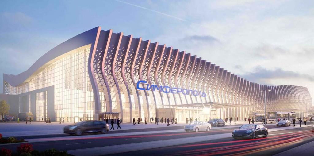 В Крыму начал работу новый аэровокзальный комплекс симферопольского аэропорта