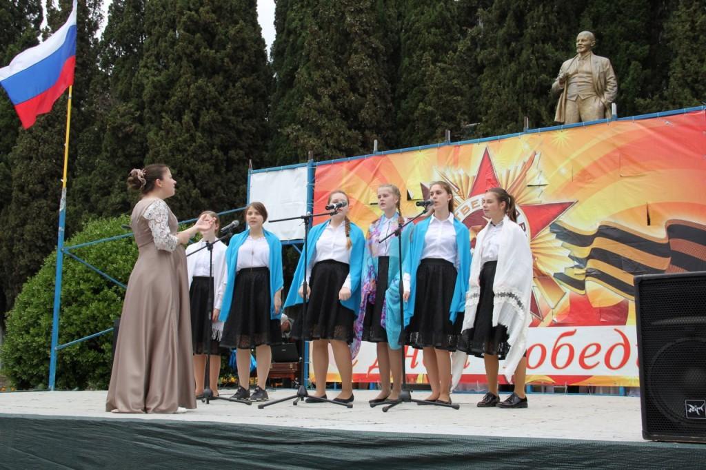 Фотоотчёт: В Алупке отметили День Победы 201814