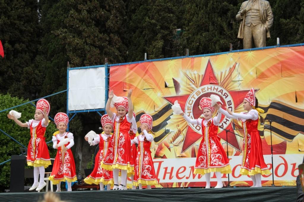 Фотоотчёт: В Алупке отметили День Победы 2018 2