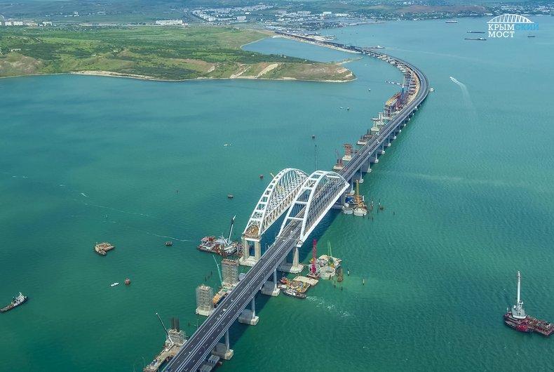 Президент России Владимир Путин открыл Крымский мост