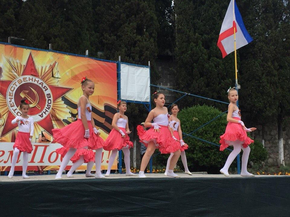 Фотоотчёт: В Алупке отметили День Победы 2018 9