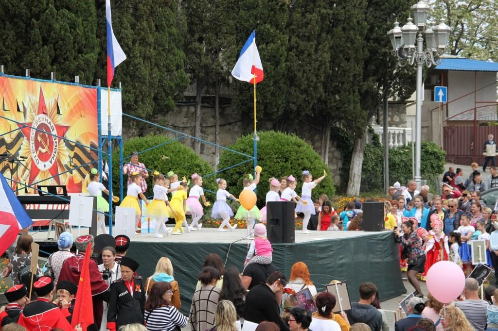 Фотоотчёт: В Алупке отметили День Победы 2018 7