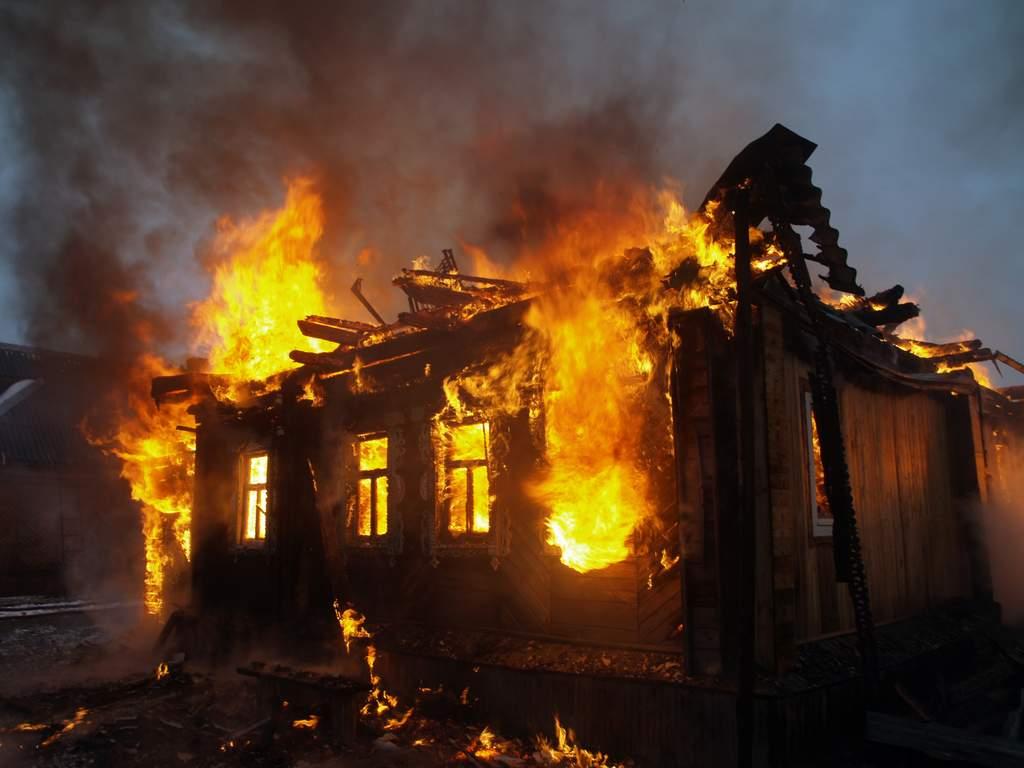 В Симеизе на пожаре погиб человек