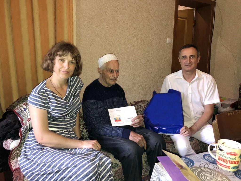В гостях у Абдулы Тохтарова