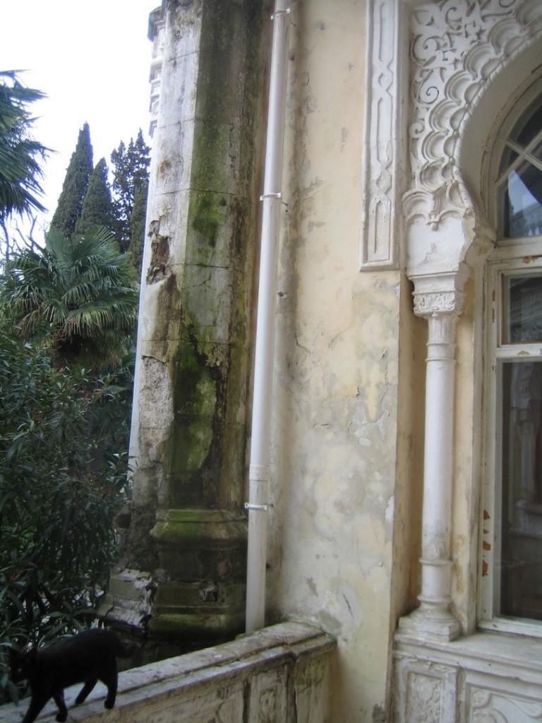 Как в Ялте уничтожают  памятник истории и архитектуры Крыма  Дворец эмира Бухарского  2