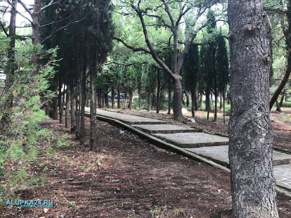 Городской парк в Алупке: плюсы и минусы 12