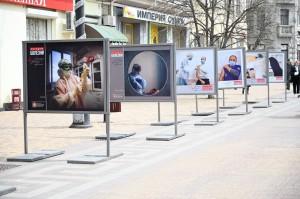 В Крыму открыли фотовыставку «История болезни» о врачах, сражающихся с пандемией