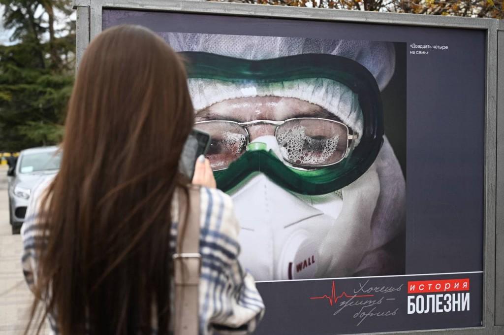 В Крыму открыли фотовыставку «История болезни» о врачах, сражающихся с пандемией 4