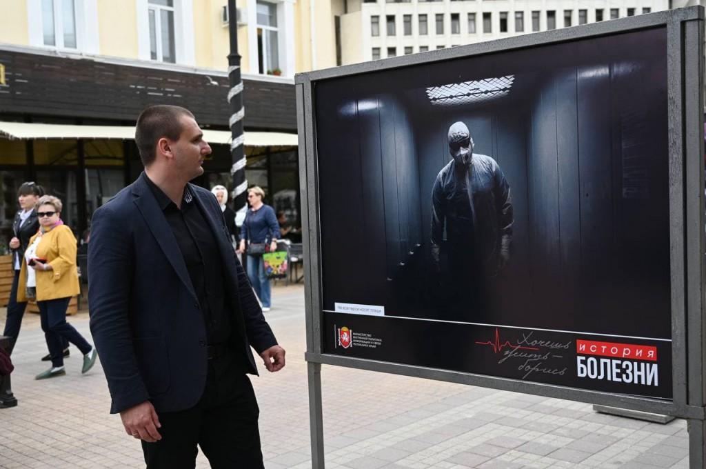 В Крыму открыли фотовыставку «История болезни» о врачах, сражающихся с пандемией 3